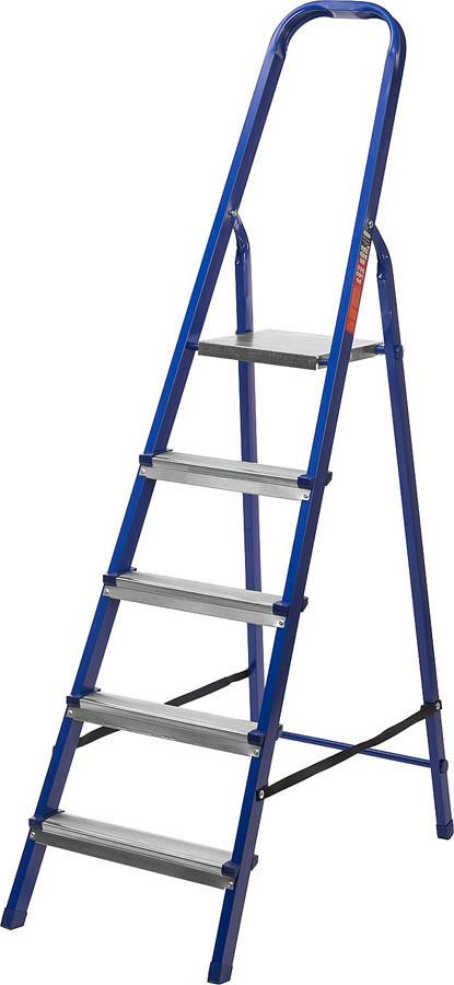 Лестница-стремянка стальная MIRAX, число ступеней 5 (38800-05)