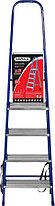 Лестница-стремянка стальная MIRAX, число ступеней 5 (38800-05), фото 3