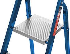 Лестница-стремянка стальная MIRAX, число ступеней 10 (38800-10), фото 3