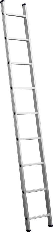 Лестница приставная алюминиевая Сибин, число ступеней 10, алюминий, максимальная нагрузка 150 кг (38834-10)