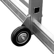Вышка-тура Сибин, высота платформы 110 см.(макс. 320 см.), алюминий, максимальная нагрузка 150 кг (38840-3), фото 3
