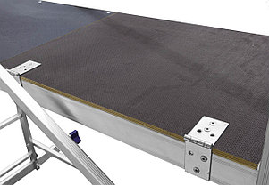 Вышка-тура Сибин,высота платформы 305 см.(макс. 510 см.), алюминий, максимальная нагрузка 150 кг (38840-5), фото 2