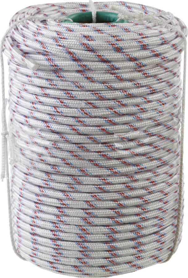 Фал плетёный полипропиленовый с сердечником Сибин, 100 м, 10 мм, 24-прядный, 700 кгс (50215-10)