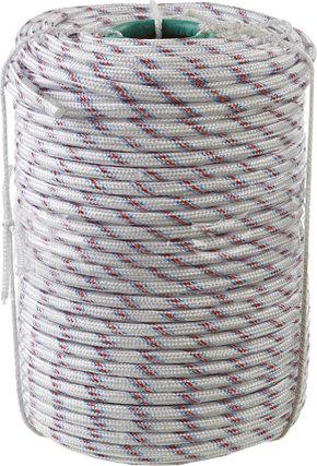 Фал плетёный полипропиленовый с сердечником Сибин, 100 м, 10 мм, 24-прядный, 700 кгс (50215-10), фото 2