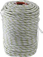 Фал плетёный полипропиленовый с сердечником Сибин, 100 м, 10 мм, 24-прядный, 1300 кгс (50220-10)