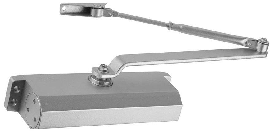 Доводчик дверной ЗУБР, вес двери 100 кг, высота 50 мм, материал силумин (37910-100), фото 2