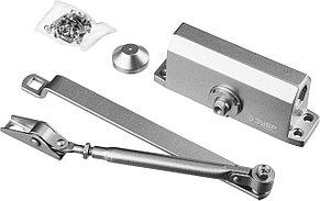 Доводчик дверной ЗУБР, вес двери 40 кг, высота 36 мм, материал силумин (37910-50), фото 2