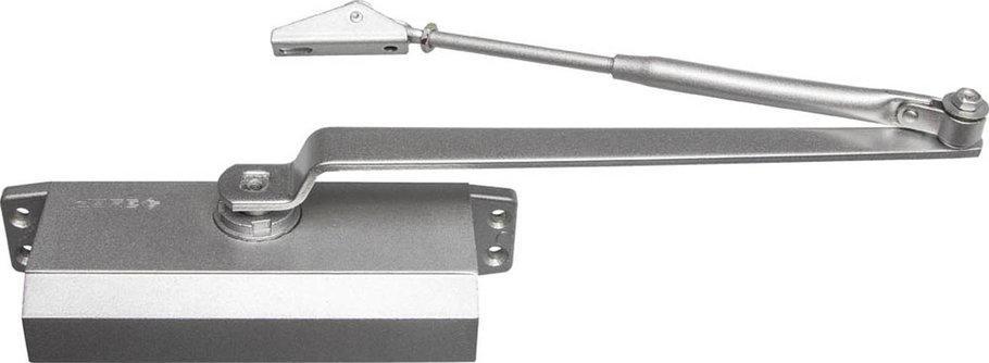 Доводчик дверной ЗУБР, вес двери 80 кг, высота 44 мм, материал силумин (37910-80), фото 2