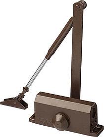 """Доводчик дверной ЗУБР, вес двери 40 кг, высота 36 мм, материал силумин, серия """"Профессионал"""" (37912-50)"""