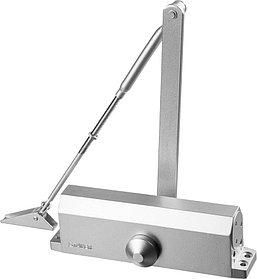 Доводчик дверной MAXComfort, Stayer, вес двери 100 кг, высота 50 мм, материал силумин (37915-100)