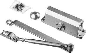 Доводчик дверной MAXComfort, Stayer, вес двери 80 кг, высота 44 мм, материал силумин (37915-80), фото 2