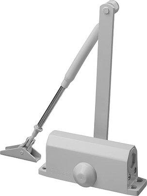 Доводчик дверной MAXComfort, Stayer, вес двери 80 кг, высота 44 мм, материал силумин (37916-80), фото 2