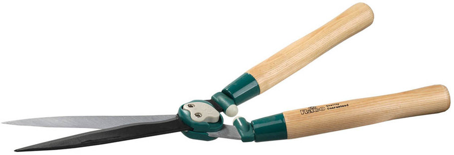 Кусторез Comfort Plus, Raco, 550 мм, волнообразные лезвия 230 мм, дубовые ручки (4210-53/206), фото 2