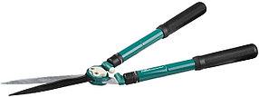 Кусторез Comfort Plus, Raco, 630-840 мм, волнообразные лезвия 230 мм, телескопические ручки (4210-53/212)