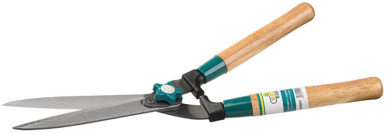 Кусторез Comfort Plus, Raco, 510 мм, прямые лезвия 230 мм, деревянные ручки (4210-53/217)