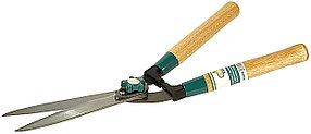 Кусторез Comfort Plus, Raco, 510 мм, волнообразные лезвия 230 мм, деревянные ручки (4210-53/218)