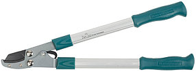 Сучкорез с упорной пластиной, Raco, 470 мм, рез до 26 мм, алюминиевые ручки, 2-рычажный (4214-53/220)
