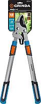 Сучкорез с храповым механизмом TX-980, Grinda, 740 мм, телескопическая ручка (424515), фото 3
