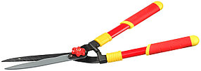 Кусторез с профильными лезвиями, Grinda, 550 мм, стальные ручки, тефлоновое покрытие (8-423551_z01)