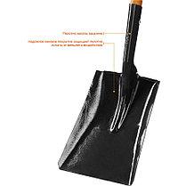 """Лопата ЗУБР, 320x250x1500 мм, совковая, деревянный черенок, серия """"Профессионал"""" (39361_z02), фото 2"""