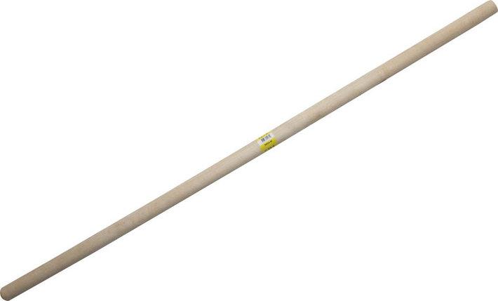 Черенок для снеговой лопаты, 32 мм х 120 см, сорт 2-й, материал береза (39439-SX), фото 2