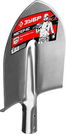 Лопата штыковая Мастер-НС, ЗУБР, 380x210 мм, материал нержавеющая сталь (39440), фото 2
