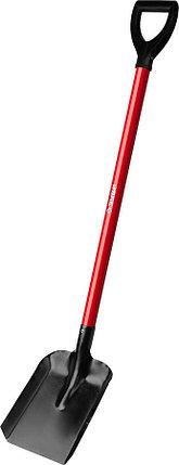 Лопата совковая, ЗУБР, 270x220x1180 мм, стальное полотно (39524), фото 2