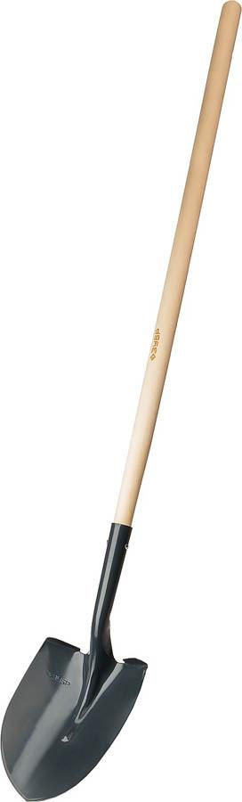 Лопата штыковая ЛСГ, ЗУБР, 474x215x1514 мм, стальное полотно, черенок из березы высшего сорта (39575)