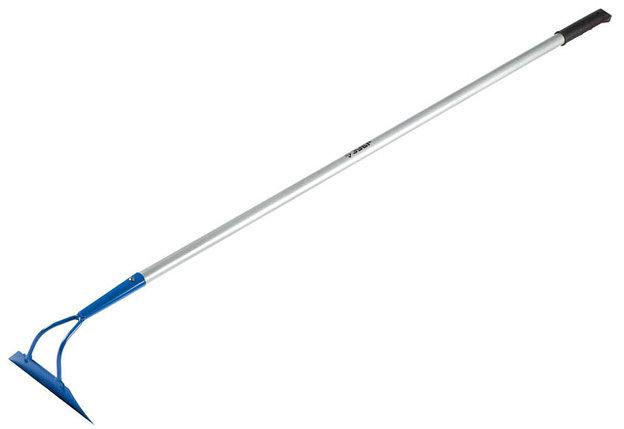 Мотыга ЗУБР, 215x65x1465 мм, материал лезвия углеродистая сталь, алюминиевый черенок (39594), фото 2