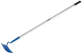Мотыга ЗУБР, 225x80x1465 мм, материал лезвия углеродистая сталь, алюминиевый черенок (39596)