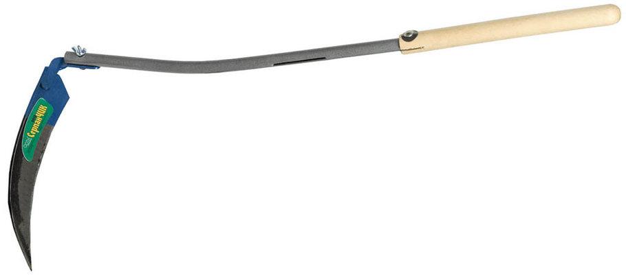 Коса-СерпанЧик с металлическим черенком, лезвие 24 см (39811), фото 2