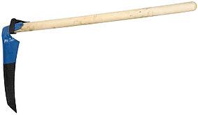 Коса-секач с деревянным черенком, лезвие 40 см (39813)