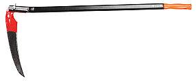 Коса-секач Бобер с металлическим черенком, лезвие 40 см (39815)