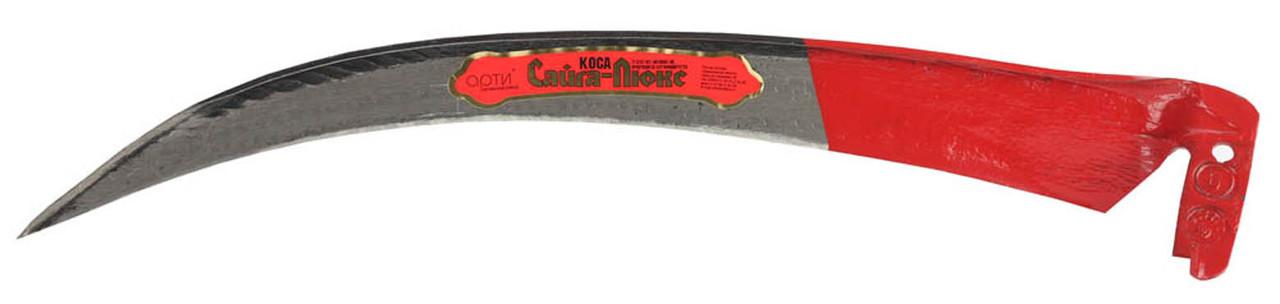 Лезвие для косы САЙГА-ЛЮКС, лезвие 60 см, отбитая, заточенная, отбивка полотна финишная (39825-6)