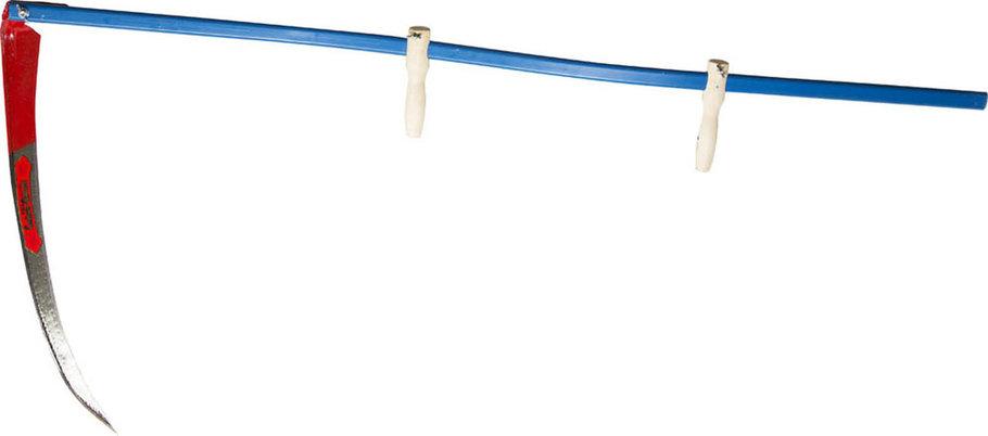 Набор косца КОСАРЬ-М, лезвие 70 см, металлическое косовище (39828-7), фото 2