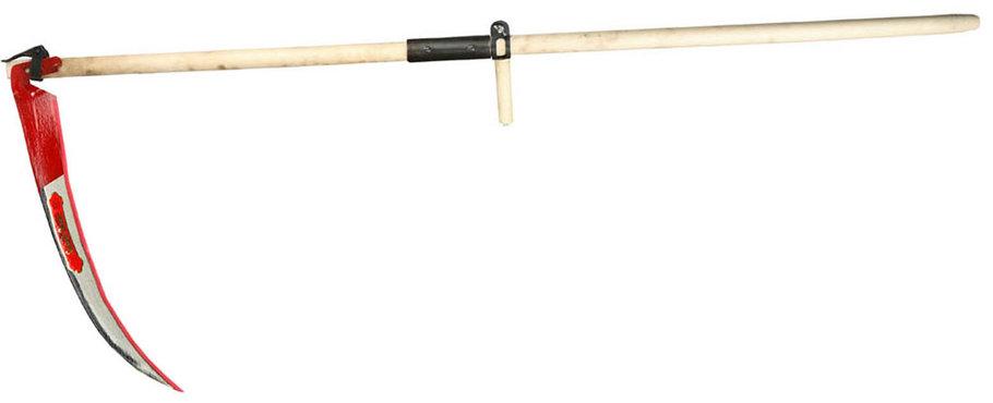 Набор косца КОСАРЬ, лезвие 70 см, отбитая, заточенная, косовище деревянное (39830-7), фото 2
