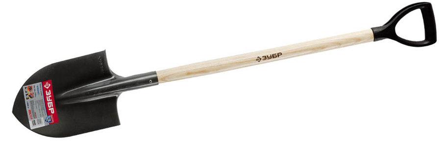 Kопата штыковая Фаворит, ЗУБР, 290х205х1200 мм, деревянный черенок (4-39502_z01), фото 2