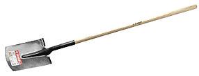 Лопата прямоугольная Фаворит, ЗУБР, 310х215х1500 мм, деревянный черенок (4-39511_z01)