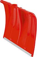 Лопата снеговая без черенка Сибин, 385x370 мм, пластиковая, красный (421832)