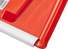 Лопата снеговая Сибин, 410x415 мм, пластиковая, алюминиевый черенок (421845), фото 3
