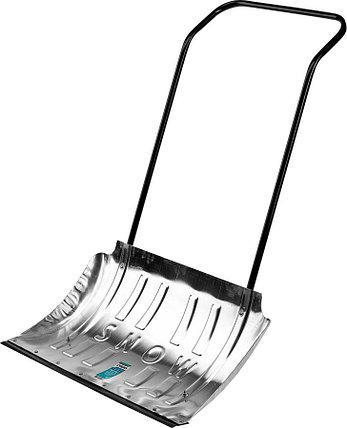 Движок для снега, Сибин, 750x410 мм, алюминиевый, толщина алюминия 1,8 мм (421859), фото 2