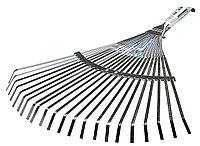 Грабли веерные, Raco, 300 - 450 мм, 22 плоских зубца, регулируемые (4231-53/733)