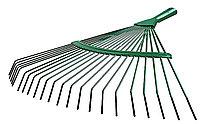 Грабли веерные, Raco, 450 мм, 22 круглых зубца, ЛКМ покрытие (4231-53/737)