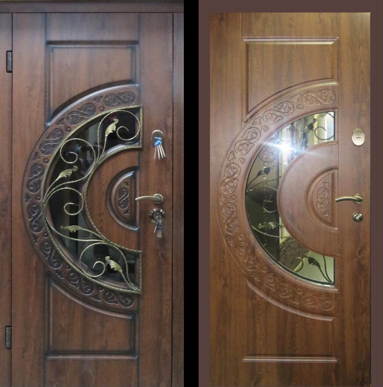Уличные металлические двери Optima Монако Люкс ст