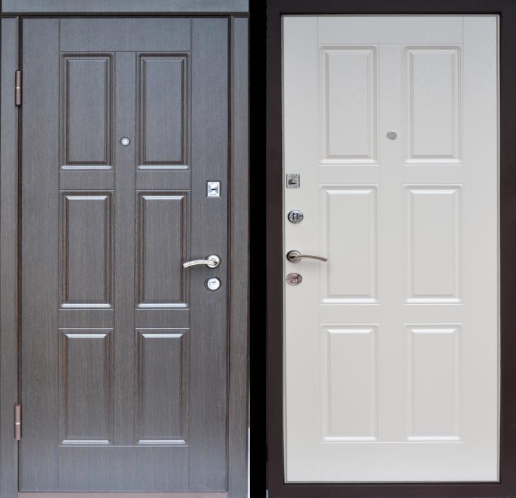 Металлические двери Квадро