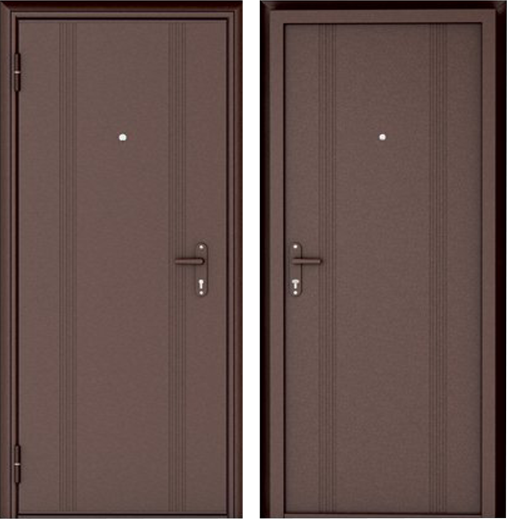 Двери входные металлические Эко