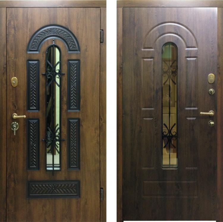 Металлические двери в квартиру Vikont