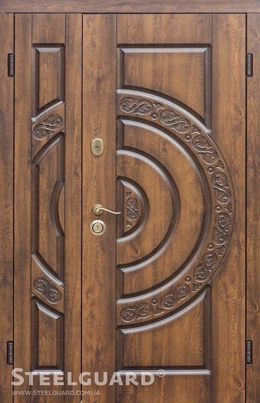 Двери входные металлические Optima Монако 1200