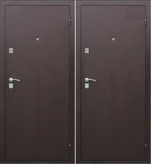 Дверь входная металлическая утепленная Стройгост 7.2 м/м (мин.в)