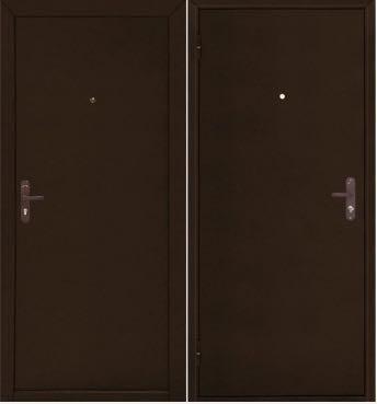 Металлические двери в квартиру Стройгост 5.1